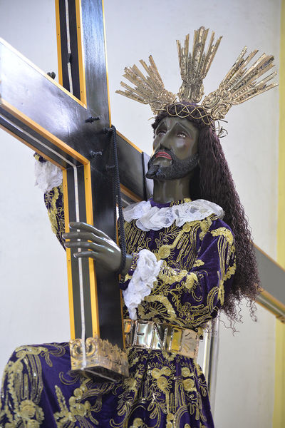Adult Adults Only Black Nazarene Close-up Day Eyeem Philippines Nazareno People Portrait