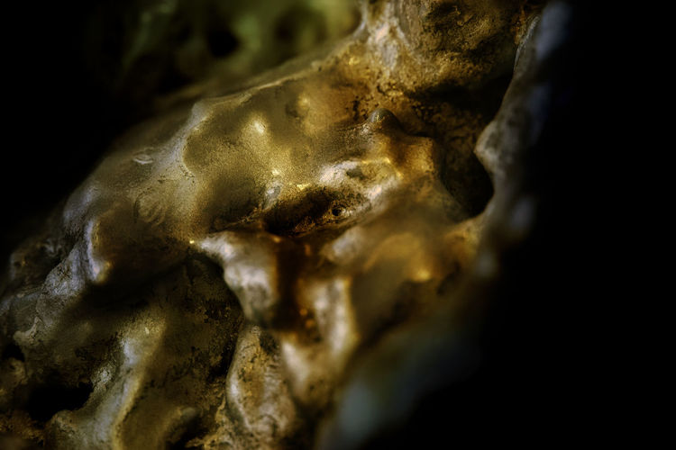 Chemical Chemical Vision Close-up Foam Gold Colored History Human Representation Interleaved Male Likeness Micro Micro Cosmos Mircophotography No People Nuggets Organic Organic Food Organic Living Organic Rock Rusty Sculpture Soft Place Statue Telescoped Travel Destinations Weich