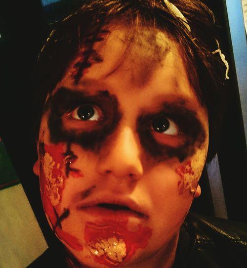 Happy Halloween Halloweenzombies Scary Boysfun Halloween2015 Halloween Eyemhalloween