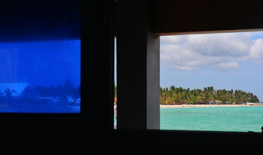 last glimpse Window Window View Island View  Port Bantayan Island Bantayan Island, Cebu Northern Cebu Philippines Water Tree Sea Beach Business Finance And Industry
