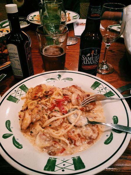Olivegarden Food Beer Samueladams