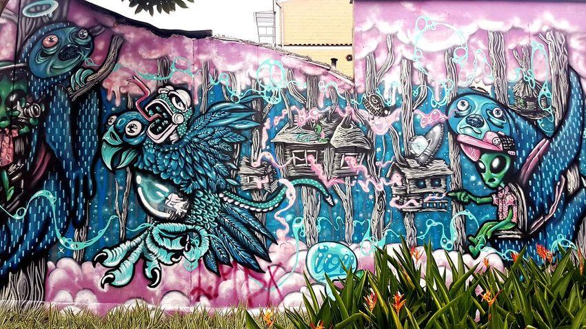Multi Colored Street Art Graffiti Close-up Architecture Built Structure ArtWork Cool Art Hip