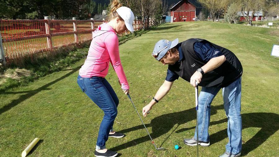Golfers Golf Equipment Golf Ball Golf Clubs Golfing Golf Tee Box Golf Lessons Golf Course