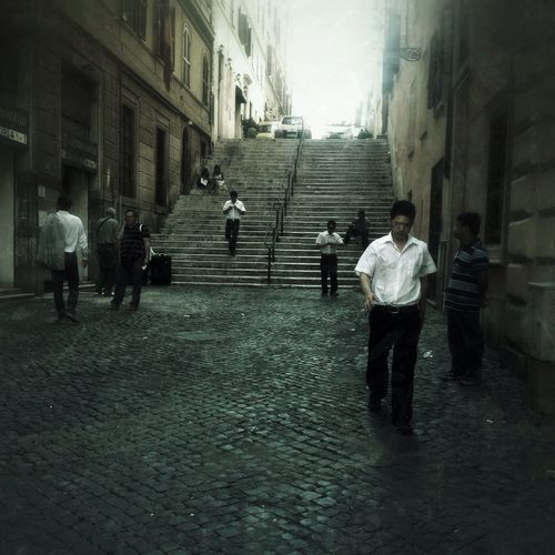 In the Street of Roma IPhoneography Mobileart NEM Submissions AMPt_community