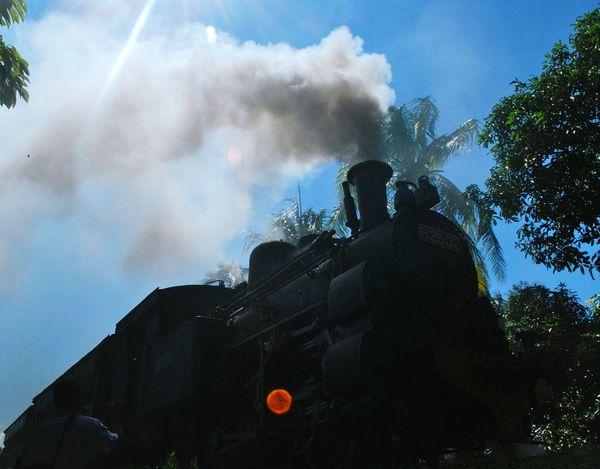 My Best Photo 2015 The Moment - 2015 EyeEm Awards Showcase: December EyeEm Best Shots Trainshot Steamtrain Smoke Dampflok Dampflokomotive