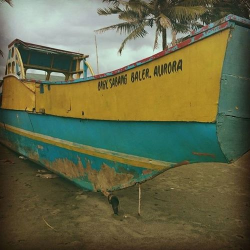 Sabangbeach Baler Auroraprovince Boat Beach HallerBaler2015 Mobilesnapshot 2015  Philippines Eyeem Philippines