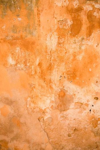 Full frame shot of peeled wall