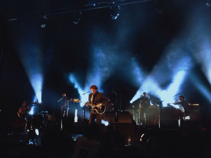 Ben Howard in the Hackney Empire in September playing his new album, I Forget Where We Were