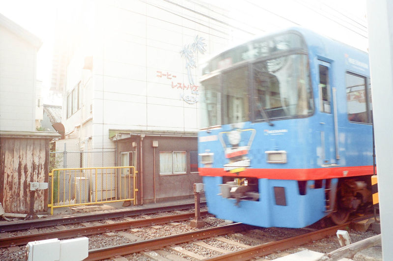 Transportation Train - Vehicle Public Transportation Mode Of Transport Rail Transportation Railroad Track Business Finance And Industry No People Day Outdoors City Architecture Sky City Photographic Memory Enjoyment Lifestyles Japan Travel Thomas