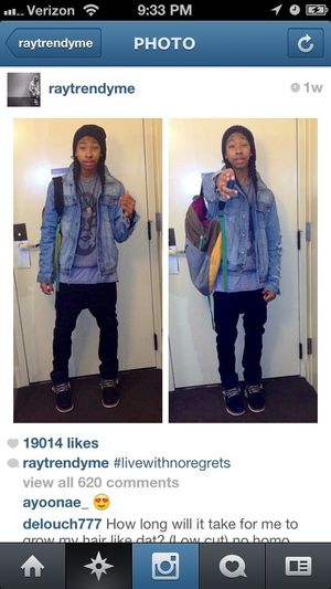 Ray ray is so Perf. And so is Roc, prince, and prod.