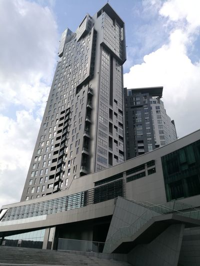 Gdynia Poland Architecture City Skyscraper Built Structure Cloud - Sky Tower Day No People Modern Sky