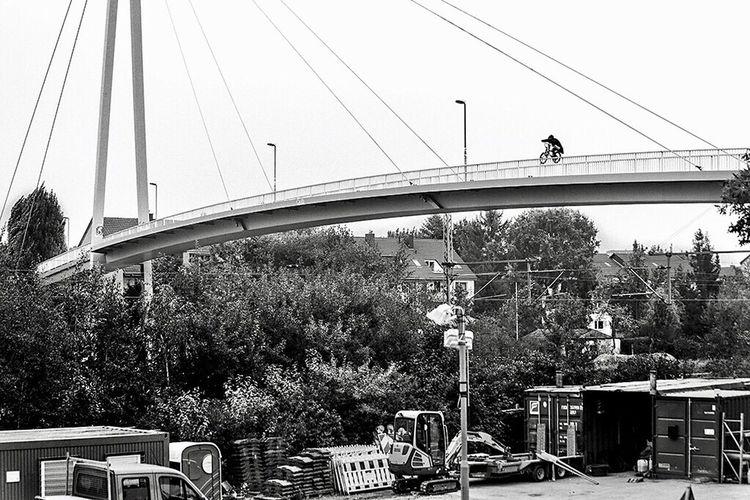Bmx  Bridge Blackandwhite Action Shot  Photography Urban Fstopgear Capturing Movement