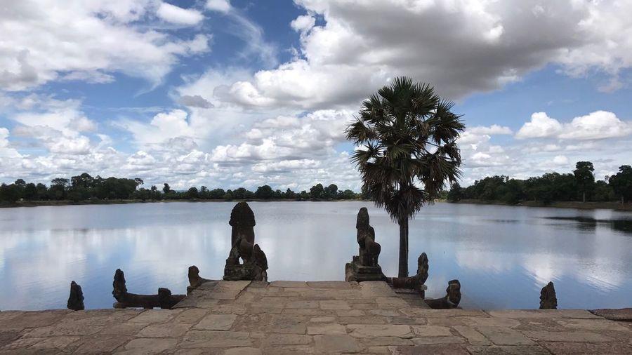 Sra Srang Lake, Siem Reap, Cambodia