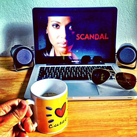 Technology I Can't Live Without Coffee Iphonesia Iphoneonly IPhoneography Scandal OliviaPope Kerrywashington