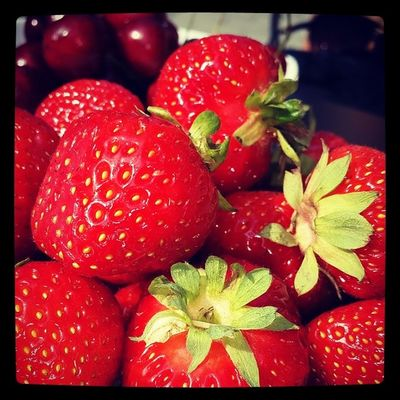 Fruktstund. .. Fruktstund Strawberry Summer Sweden