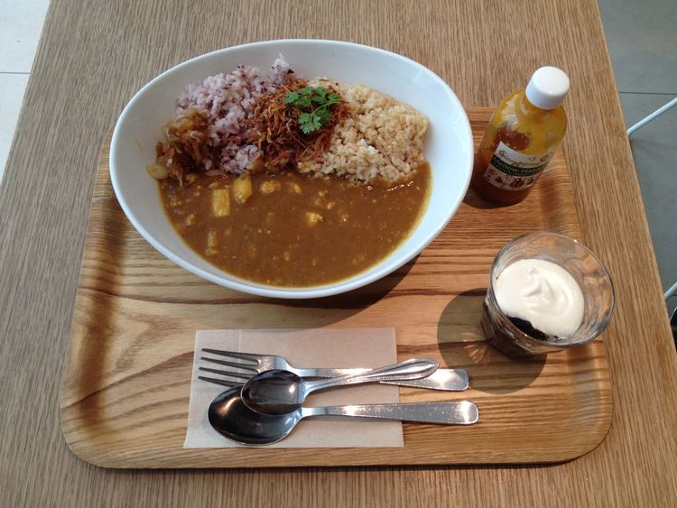 Lunch Yummy Spicy Curry