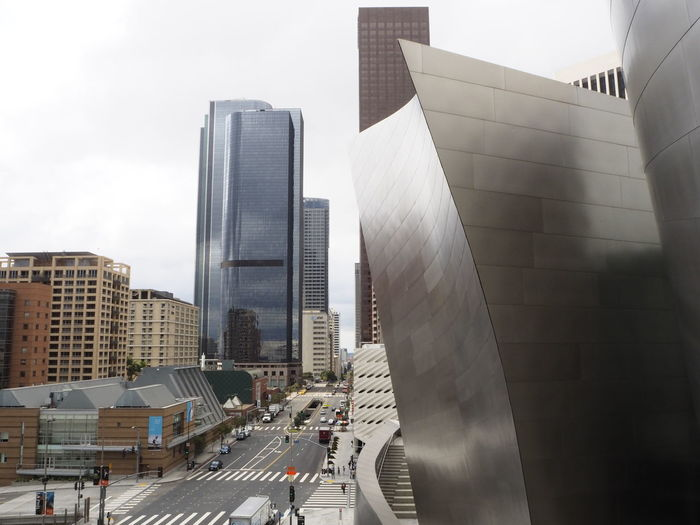 (c) Martina Schenk America Architecture Built Structure California City Day Exploring Los Angeles, California Los Ángeles Modern No People Outdoors Sky United States USA USAtrip Walt Disney Hall WestCoast