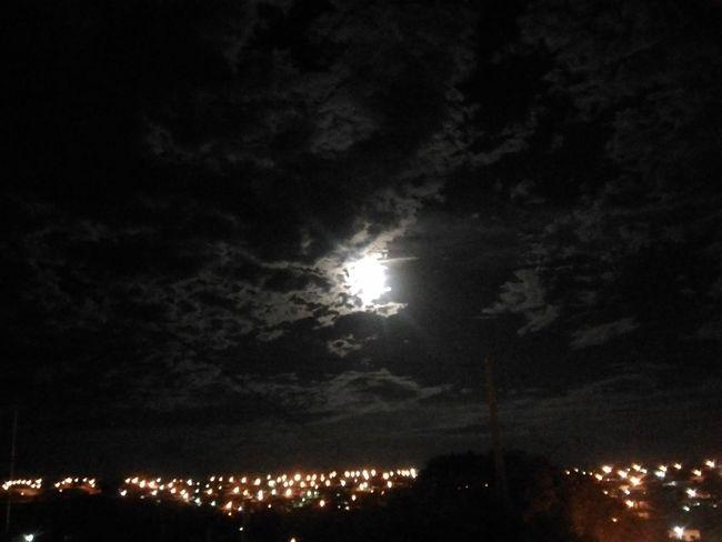 Night Illuminated Sky Moon