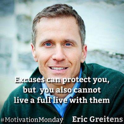 Excuses can protect you, but you also cannot Live a full Life with them Motivationmonday Motivation