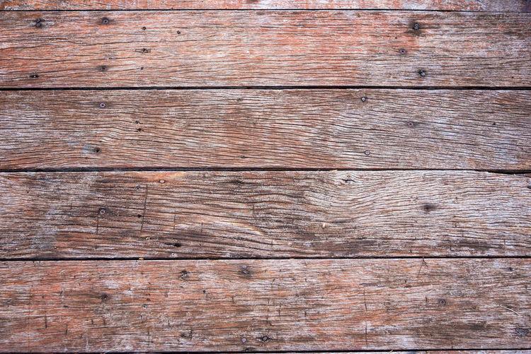 Full frame shot of weathered wooden floor