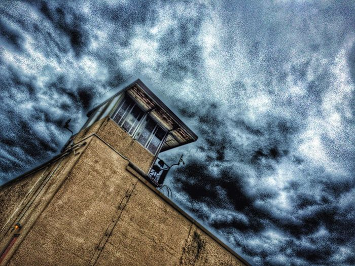 Allouez Green Bay  Wisconsin Reformatory Urban Photography Urban Landscape Urbanphotography Urban Geometry Urbanscape Afternoon Blues Sky And Clouds Cityscapes Looking Up Architecture Incarceration Prison NetFlix Original Making Of Murderer Steven Avery