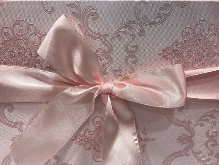 Indoors  Pattern Satin Tied Bow Close-up One Person Lingerie People Millennial Pink