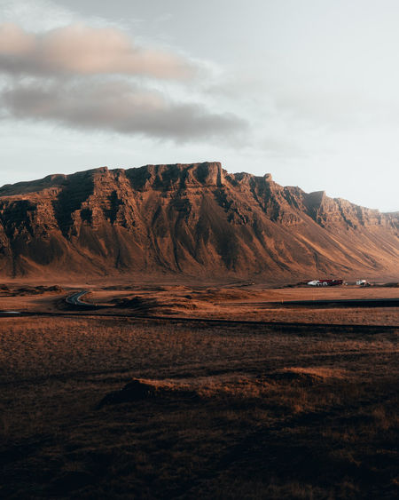 Always on the hunt for a new Roadtrip to find killer landscapes. Favorite of 2019? Iceland Iceland Landscape Moody Sky Sunset Travelling Car Road Desert Arid Climate Power In Nature Mountain Outdoor Pursuit Accidents And Disasters Sky Landscape Volcanic Landscape Geology Rugged Volcano Physical Geography The Great Outdoors - 2019 EyeEm Awards