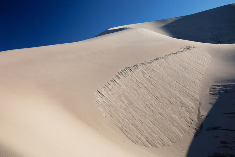 Beauty In Nature Death Valley National Park Desert Desert Beauty Eureka Sand Dunes Isolated Nature Remote Sand Dunes