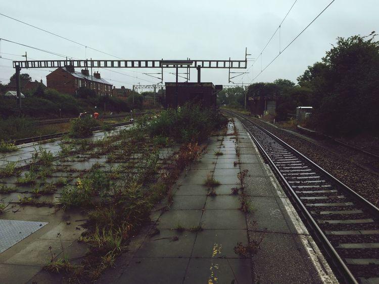 Oldstation naturetakesover railway lovemyjob longwalk