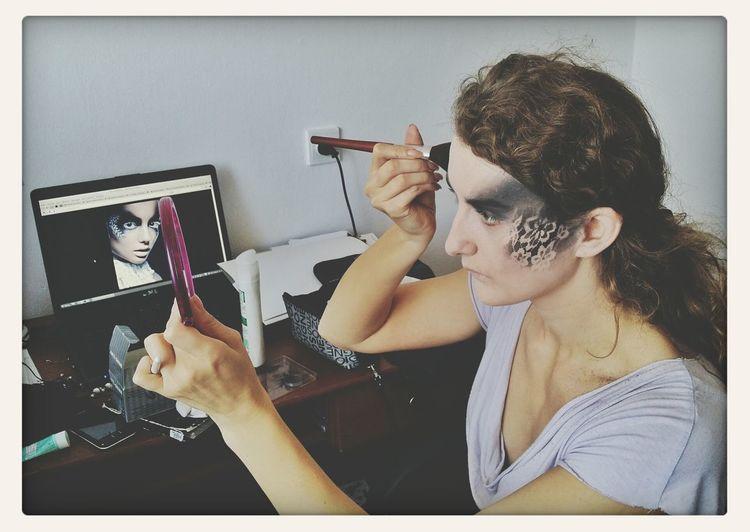 Przygotowania do sesji :) Efekty już wkrótce :) Photography Makeup Sesion