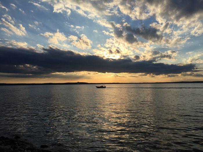 Minsk sea Minsk Belarus MinskSea Sunset Water Sea Nature Natural Harmony Sky Idyllic Oxygen Charming Breathin Juicy Colorful