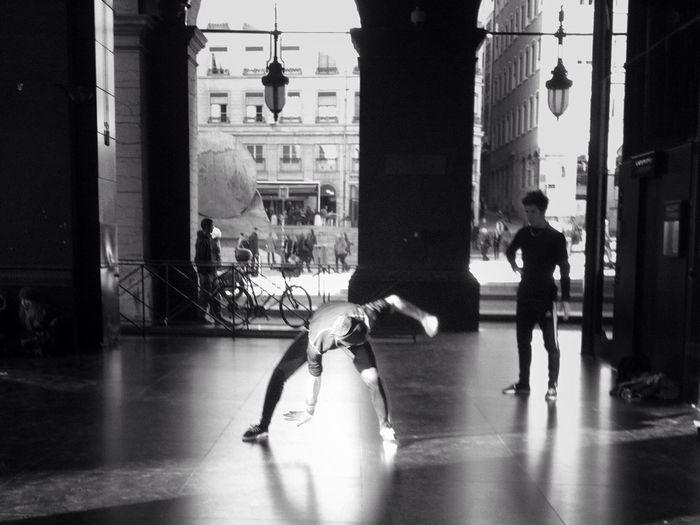 Blackandwhite The Dancer