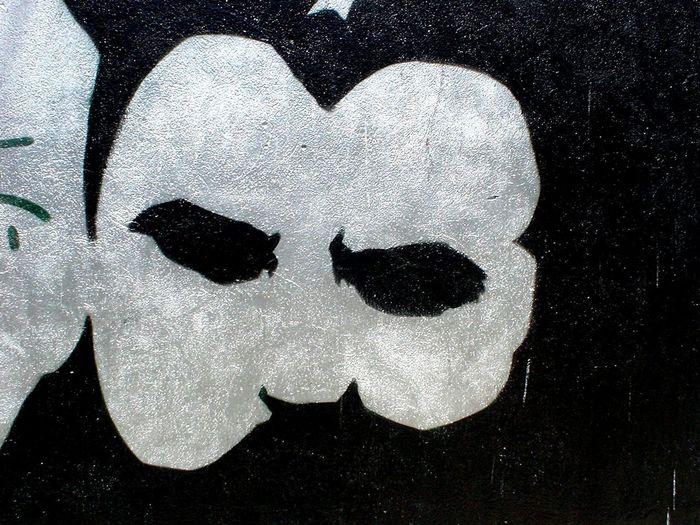 Graffiti Art Face Ephemeral