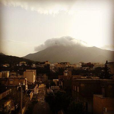 Idreamoftunisia InstagramTunisie Instagramtn Cloudy montagne Boukornine HammamLif