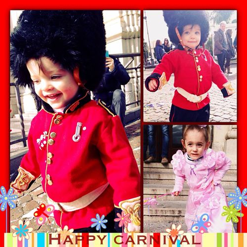 Happy Carnival by Alessio & Angela  ? ? ? ✨ ? ? Beautiful Little Nephews !! ☺️ ? ❤️