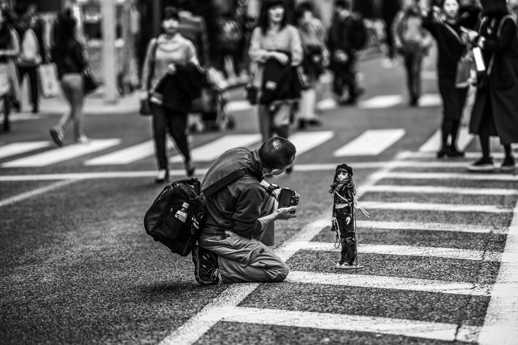 """""""The Model"""" City Day Doll Japan Model Nikon Photographer Street Streetphotography Tokyo The Street Photographer - 2017 EyeEm Awards Stories From The City The Street Photographer - 2018 EyeEm Awards The Portraitist - 2018 EyeEm Awards My Best Photo The Art Of Street Photography"""