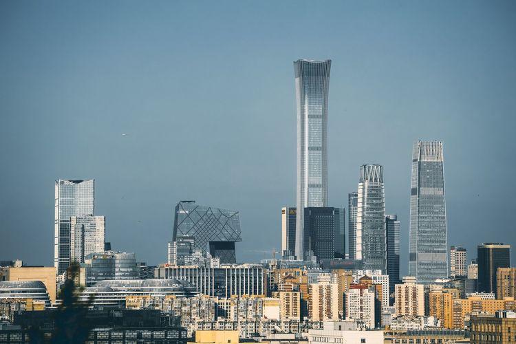 New building in beijing