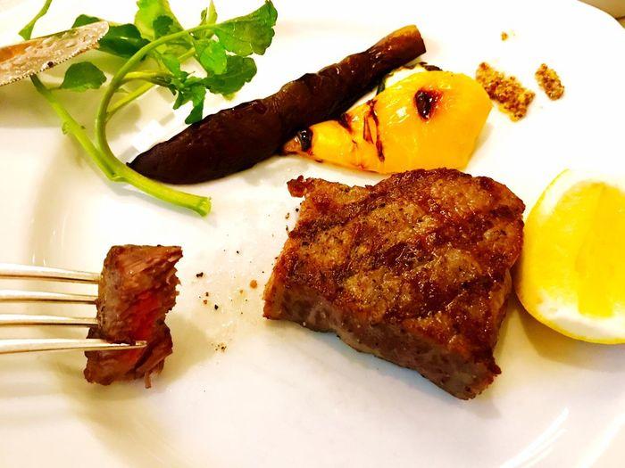 西麻布アッピアアルタで旧い友達と食事 たまにはいいけど、少しで充分、、 Food And Drink Food Ready-to-eat Freshness Plate Serving Size Meat