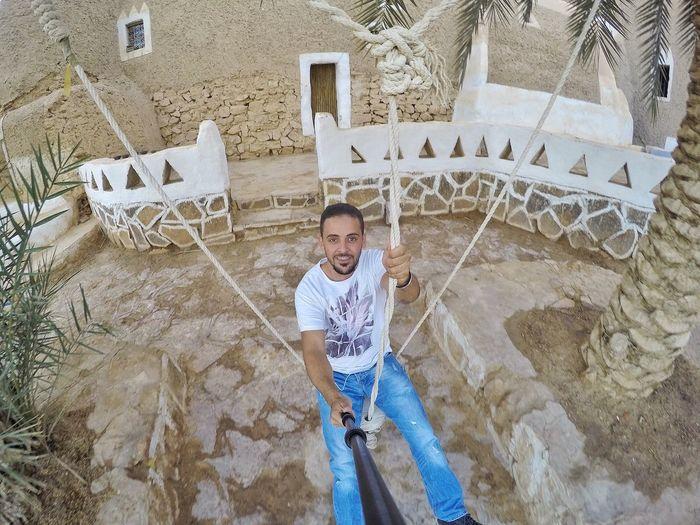 Libya Libyan Ghadames Tradition Traditional Heritage Swing Palm Tree Goprohero4 Gopro Tojada_cafe Cafe The_archaeological_swing Smiling Enjoying Life Having Fun That's Me Snapseed