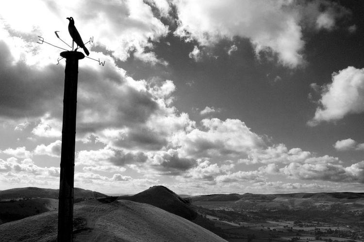 Back to digital while my film gets developedCaradoc Dramatic Sky Hiking Mountain Range Nature Outdoors Scenics Taking Photos Blackandwhite Landscape Digital Monochrome Monochrome Photography