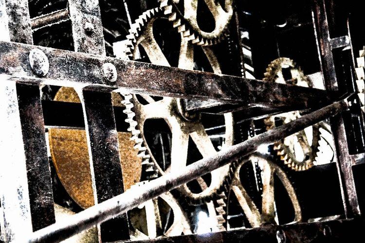 Vintage Clockwork Clockporn Mechanism