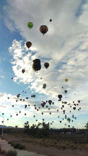 Check This Out Newmexico Albuquerqueballoonfiesta Abqphotos Balloonfiesta  Enjoying Life