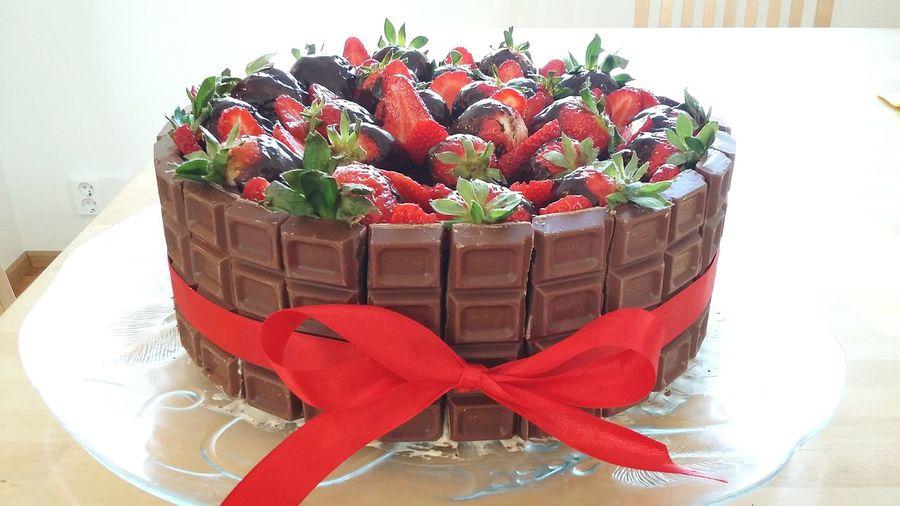 S Strawberries Red Chocolate♡ Fazer