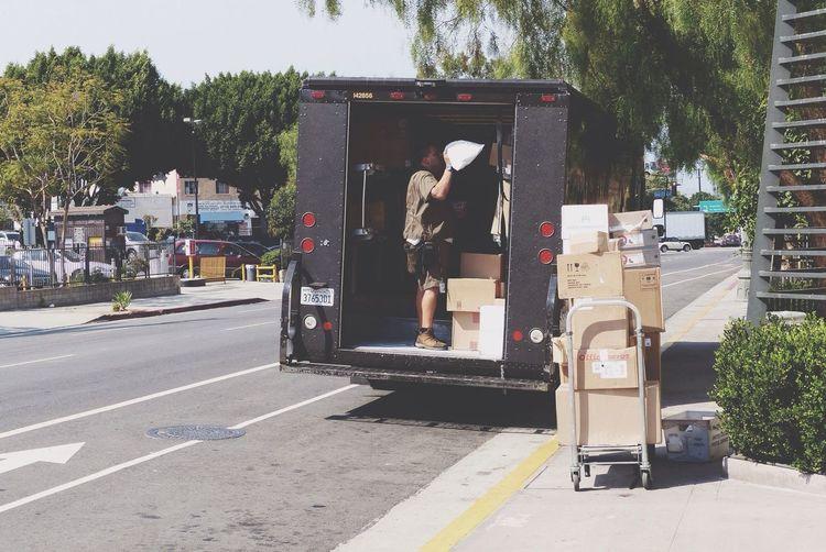 Los Angeles, California Parcel