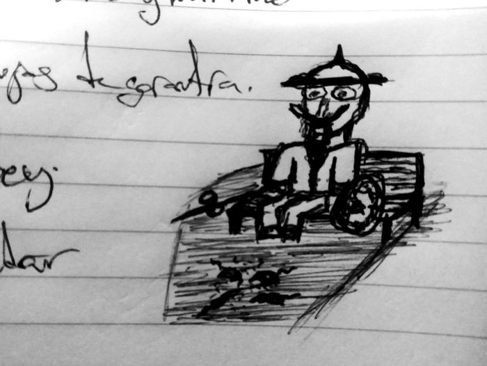 The boring meetings 2 Pencil Drawing Sketch Bicycle Street Art Painted Image Arts Culture And Entertainment Creativity Art And Craft Sky Close-up Sketch Pad Ink Ink Well