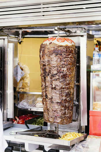 Day Dinner Dinner Time Doner Kebab Donerkebab Food Food And Drink Food Photography Kebab Lunch Lunch Time! Meat Meat Market No People Restaurant Restaurants Rotisserie Sandwiches Store Street Take Away Take Away Food