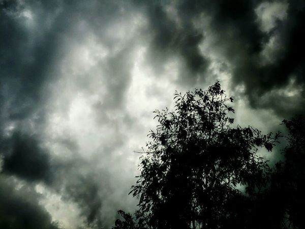 Rainy Morning Sky And Clouds Cloudporn EyeEm Bangladesh Natural Beauty Sky Skyporn Nexus 5 Mobile Photography