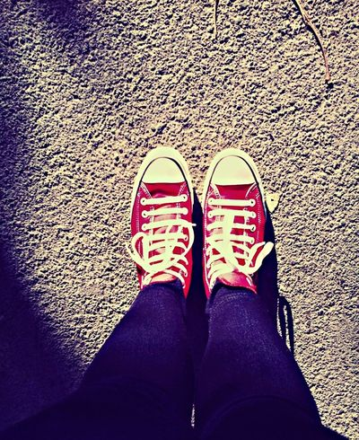 Converse moment.. Walking Around