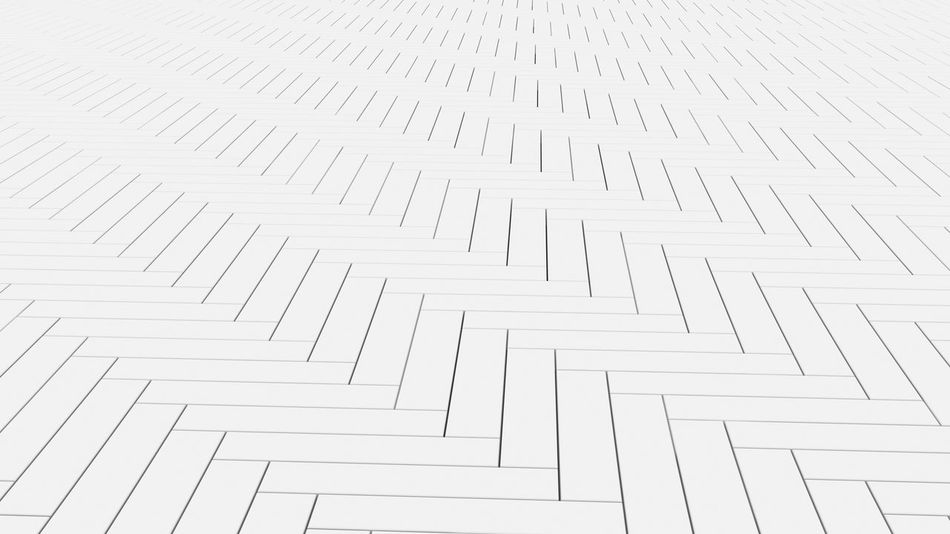 White timber wood slats floor. Pattern background, 3d illustration Architecture Lines Shape Wall Wood Abstract Architecture Background Backgrounds Battens Built Structure Close-up Day Design Full Frame Geometric Shape High Angle View Indoors  Interior Lath Material No People Pattern Repetition Shape Slats Steps And Staircases Structure Texture Textured  Tile White White Color Zigzag