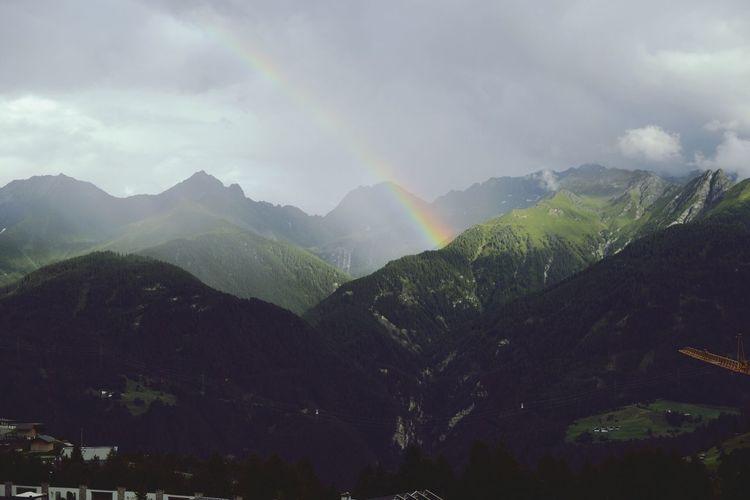 Rainbow at Fiss Rainbow